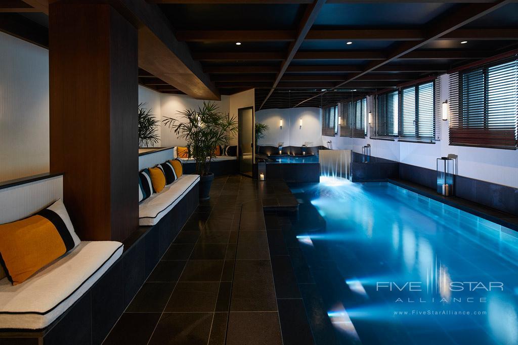 Indoor Pool at Le Roch Hotel & Spa, Paris, France