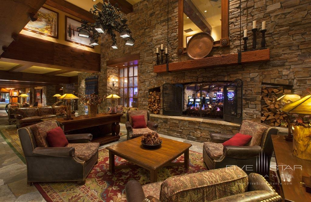 Lobby of Hyatt Regency Lake Tahoe Resort Spa and Casino, Incline Village, NV