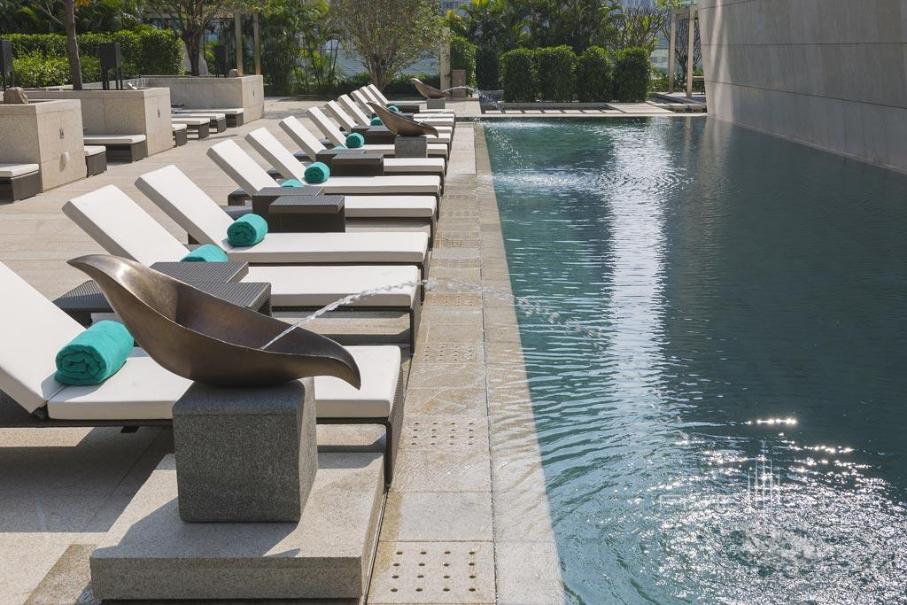 Outdoor Pool at Mandarin Oriental Guangzhou, Guangzhou, Tianhe District, China