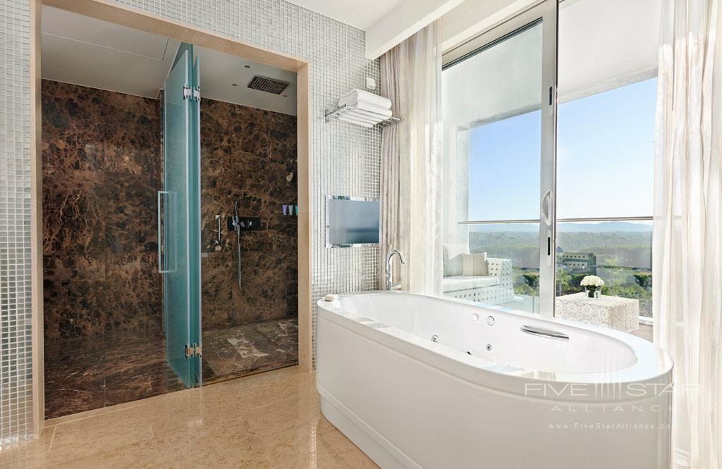 Roof Garden Suite Bath at Conrad Algarve, Algarve, Portugal
