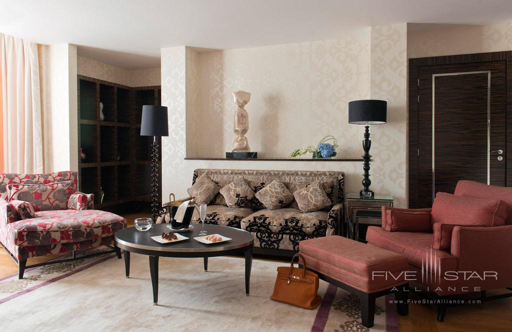 Two Bedroom Seventh Floor Suite Lounge at InterContinental Carlton Cannes, Cannes, France