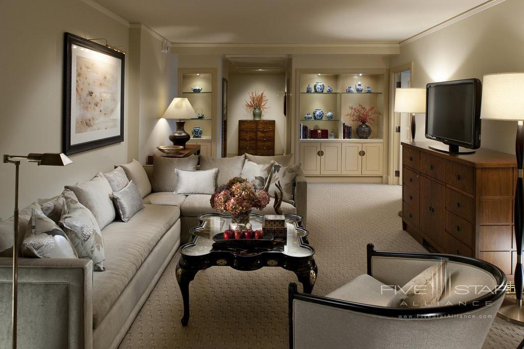 Mandarin Suite Living Room at Mandarin Oriental Washington, DC, United States