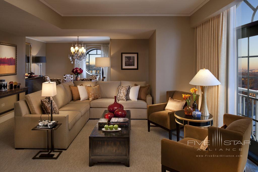 Oriental Suite Living Room at Mandarin Oriental Washington, DC, United States