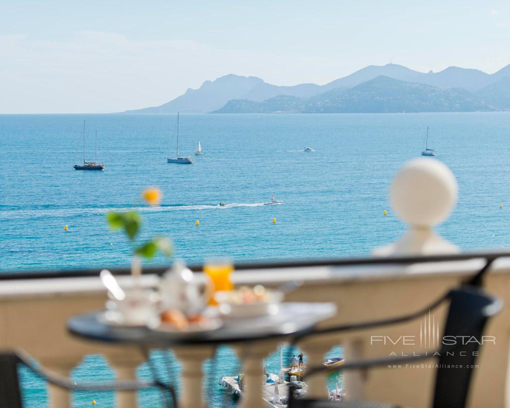 Breakfast with Sea Views at InterContinental Carlton Cannes, Cannes, France