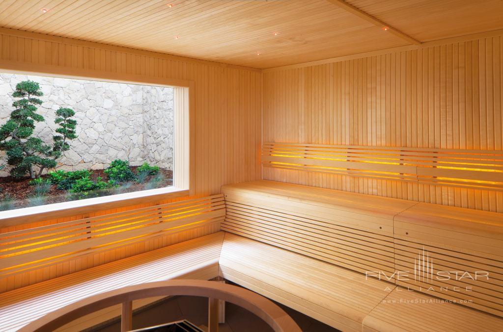 Sauna at Conrad Algarve, Algarve, Portugal