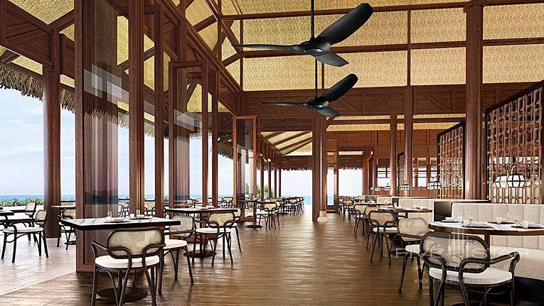 Dine at Conrad Bora Bora Nui, Bora Bora, French Polynesia