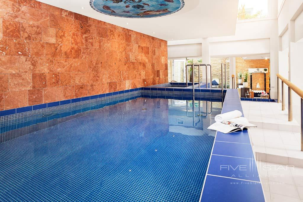 Indoor Pool at Grand Hotel Karel V, Utrecht, The Netherlands