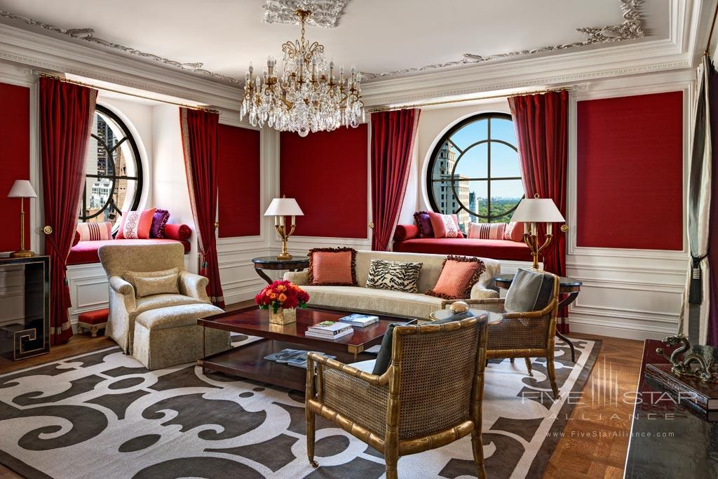 Suite Living at The St Regis New York, NY, United States