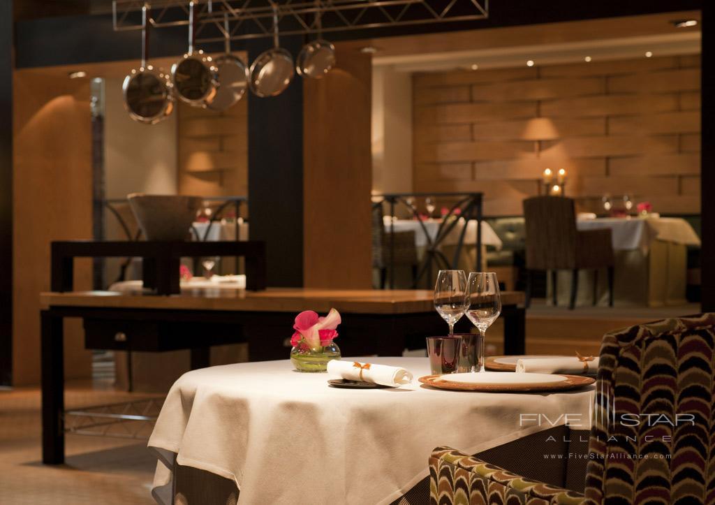 Santceloni Dining Room at Hesperia Madrid, Madrid, Spain