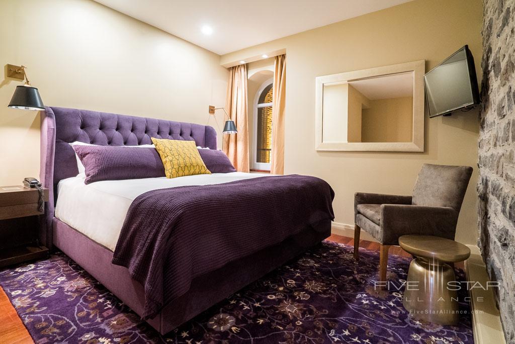 Guest Room at Auberge Saint-Antoine, Quebec City, PQ, Canada
