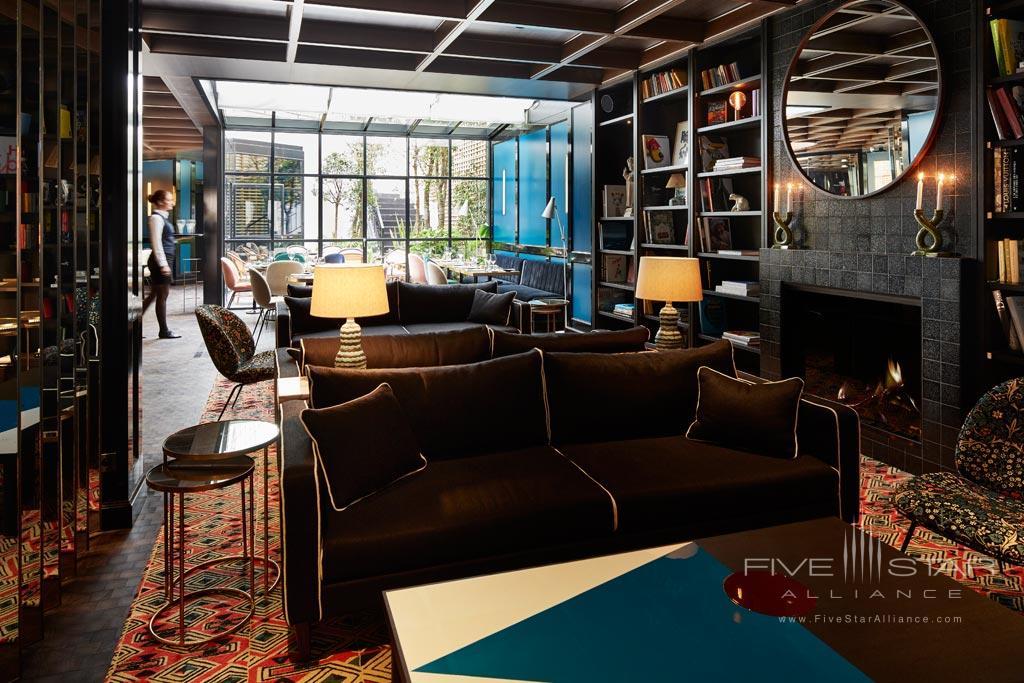 Lobby of Le Roch Hotel & Spa, Paris, France