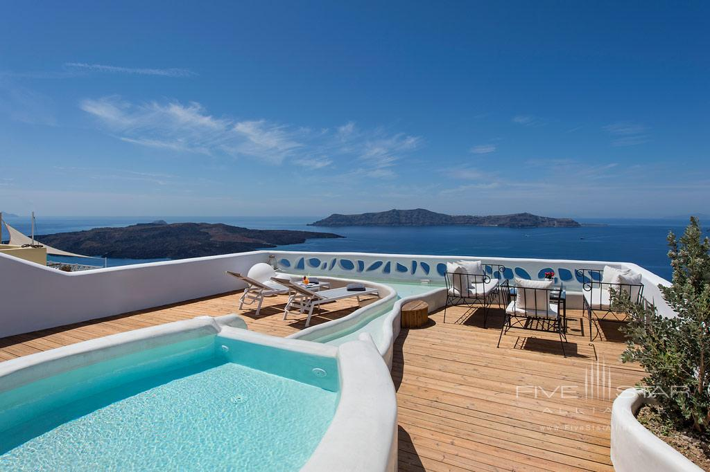 Pool with Views at Athina Luxury Suites, Greece