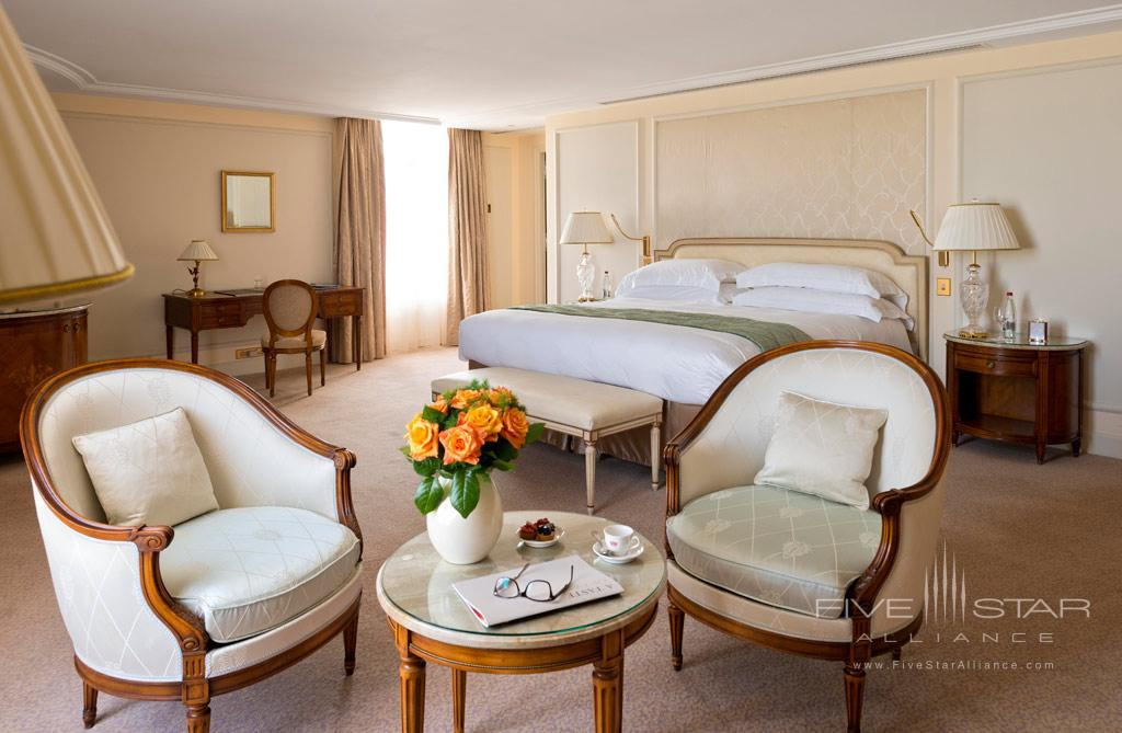 Seventh Floor Sophie Marceau Bedroom Suite at InterContinental Carlton Cannes, Cannes, France