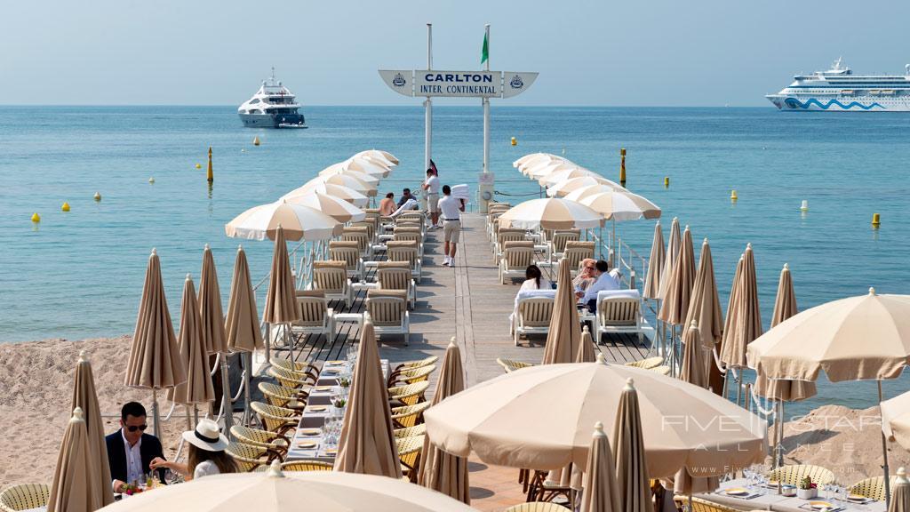 Carlton Pier at InterContinental Carlton Cannes, Cannes, France