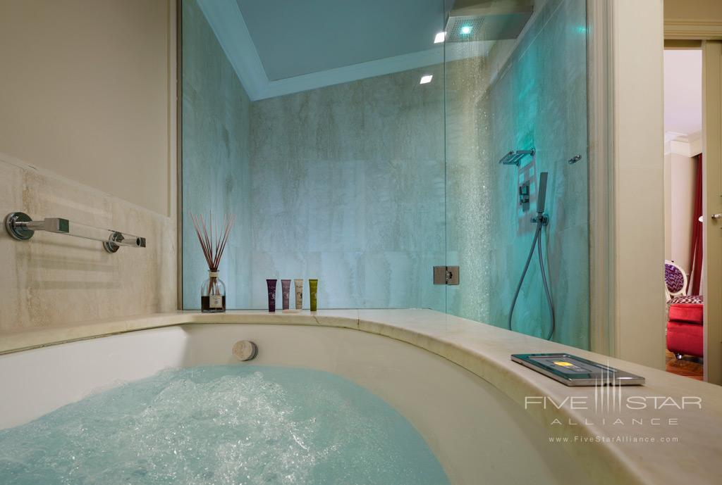 Bargello Suite Bath at Brunelleschi Hotel Florence, Italy