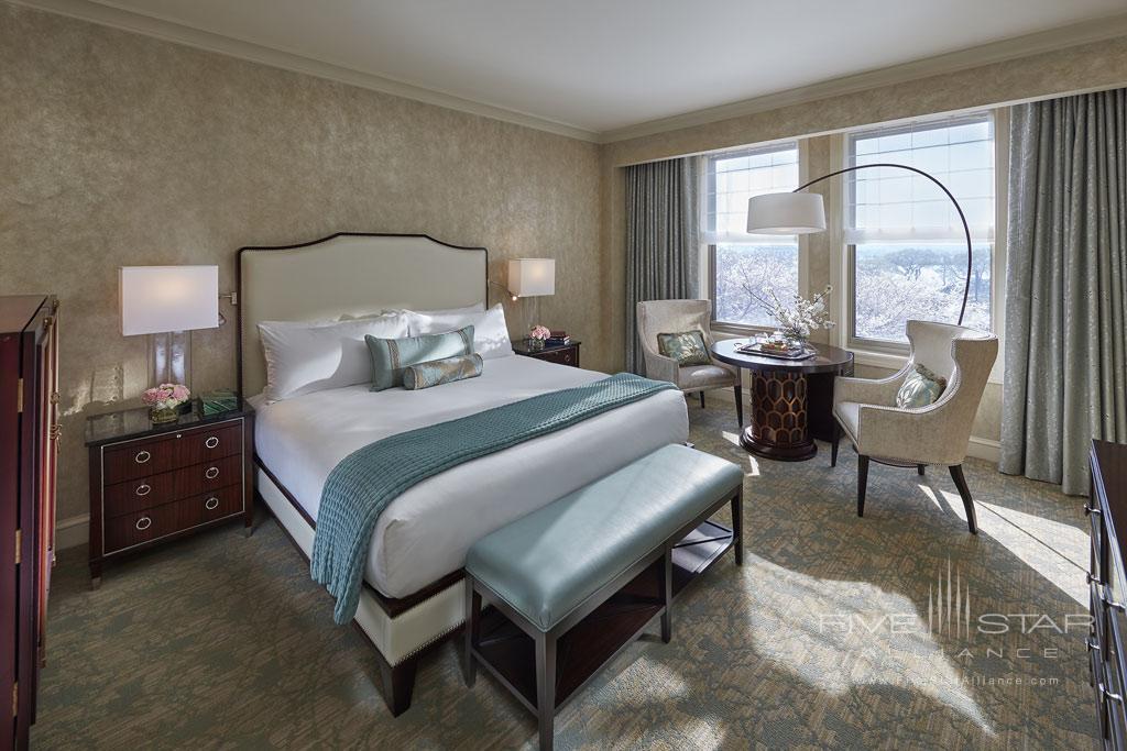 Club Water King Guest Room at Mandarin Oriental Washington, DC, United States