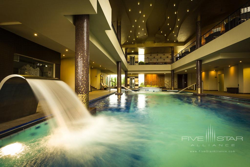 Indoor Pool at Hotel Amade Chateau, Vrakúň, Slovakia