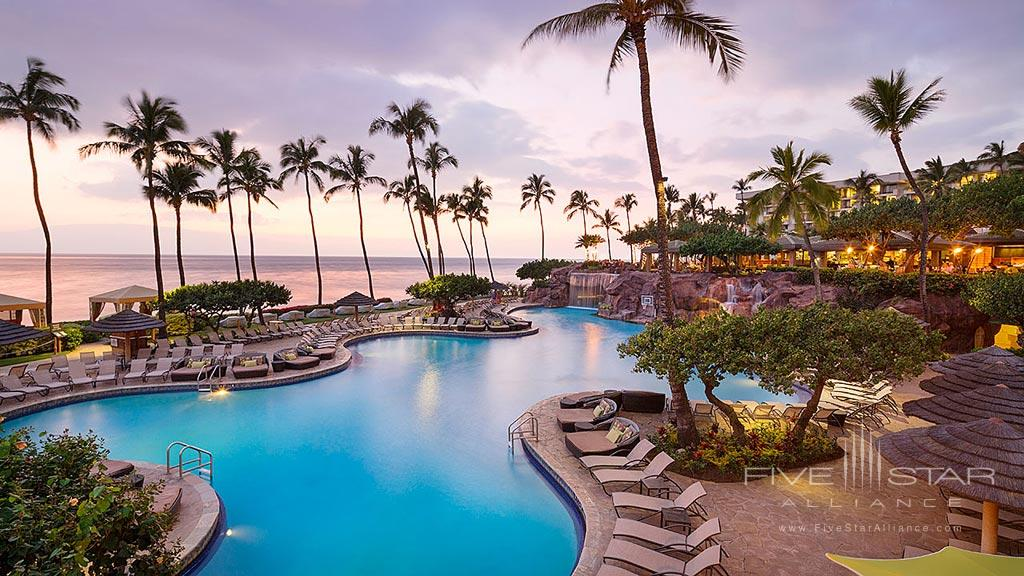 Outdoor Pool at Hyatt Regency Maui Resort And Spa, Kaanapali, HI