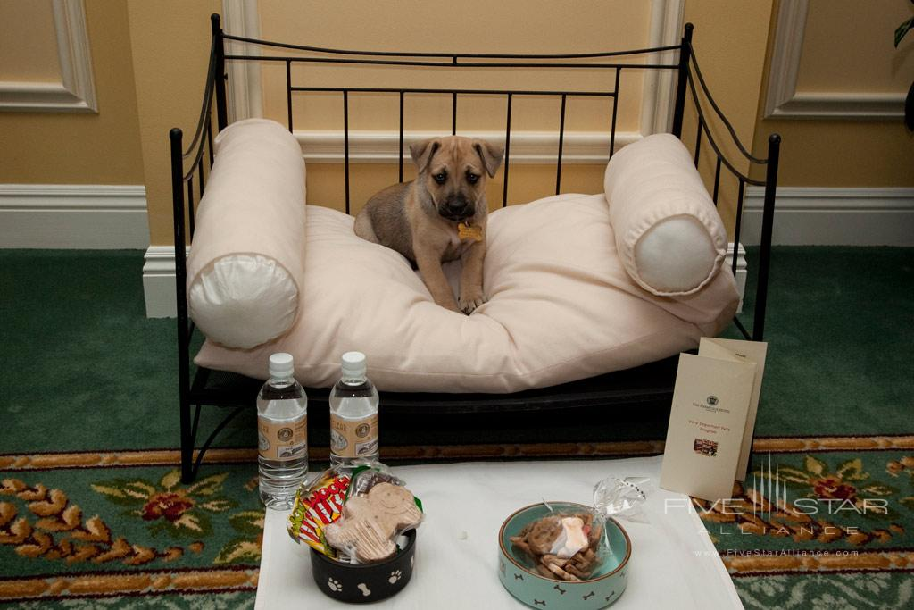 Pets welcome at The Hermitage Hotel, TN, United States