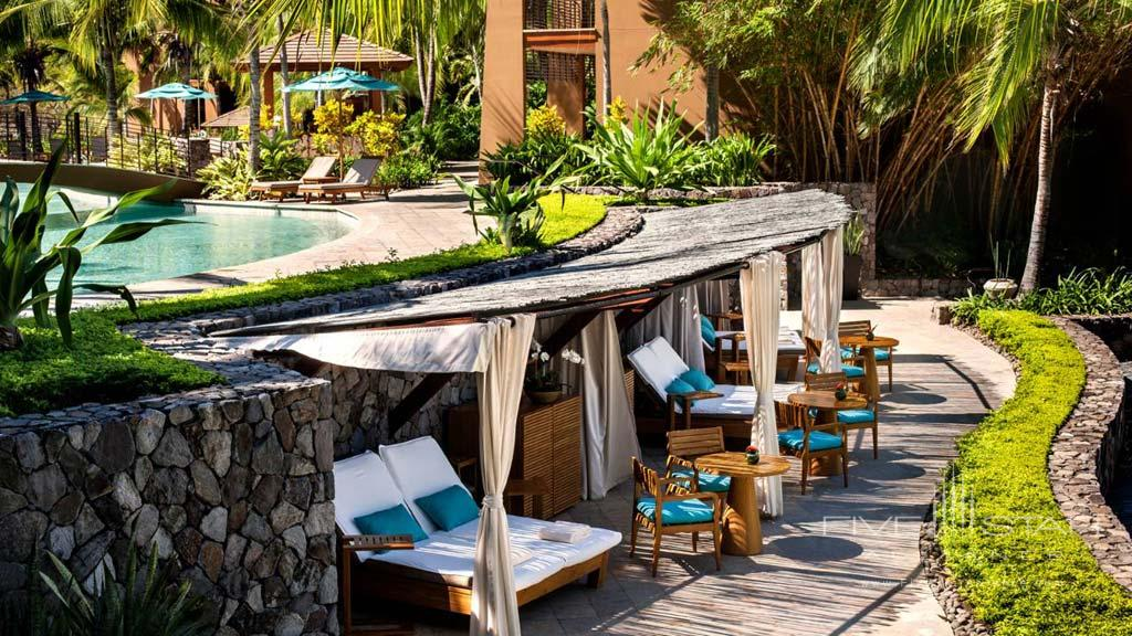 Pool and Lounge at  Four Seasons Resort Costa Rica at Peninsula Papagayo, Guanacaste, Costa Rica