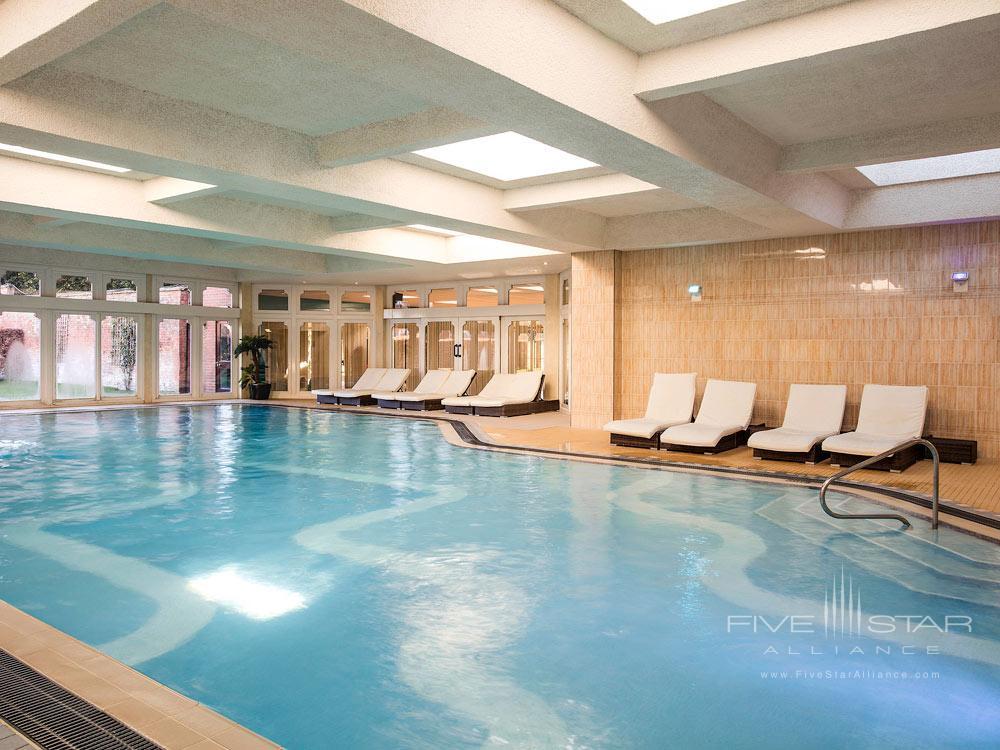 Indoor Pool at Walton Hall, Wellesbourne, Warwickshire, United Kingdom