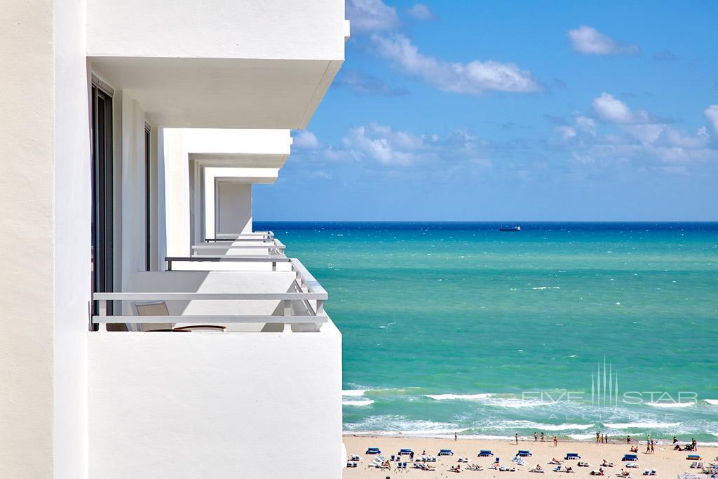 Guest Room Views at Loews Miami Beach Hotel, Miami Beach, FL