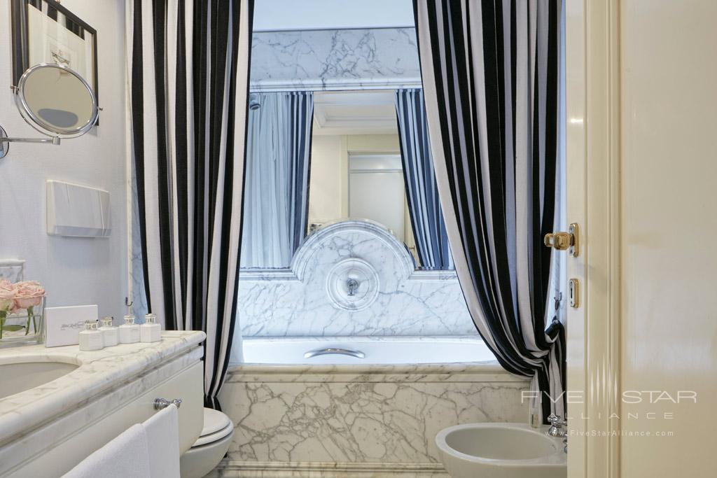 Deluxe Guest Bath at Lord Byron, Rome, Italy