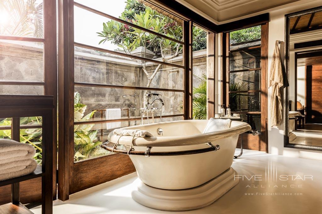 Bath at Four Seasons Bali Jimbaran Bay, Bali, Indonesia