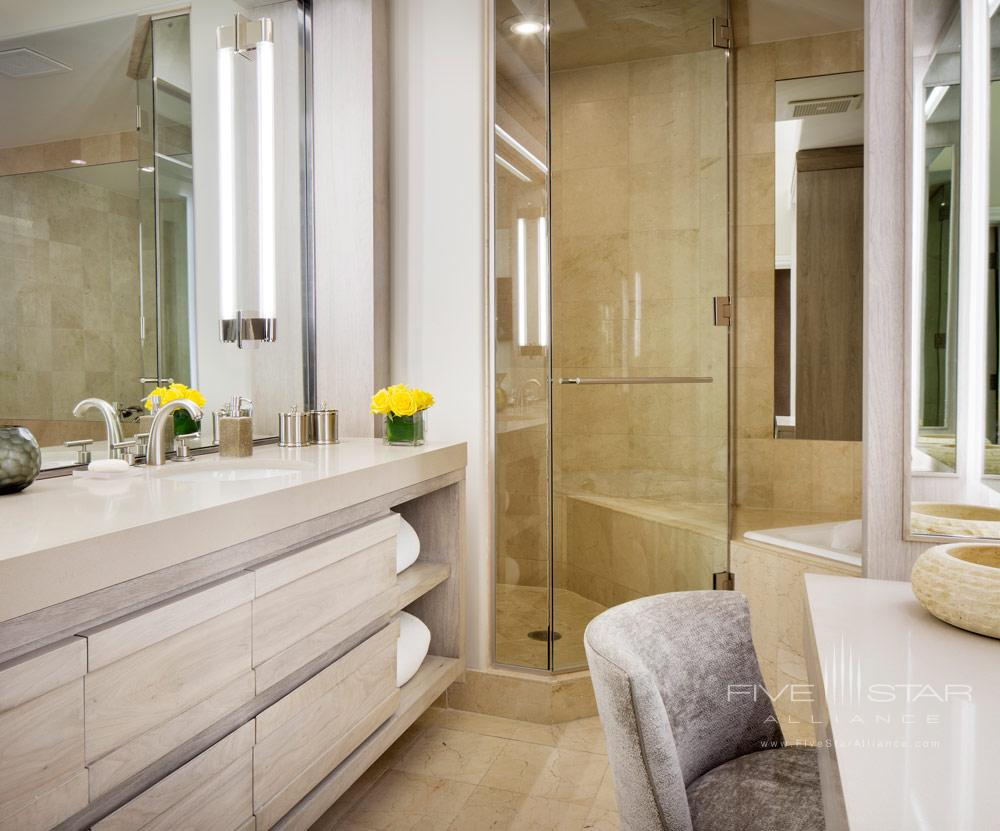 Guest Bath at The Little Nell, Aspen, CO