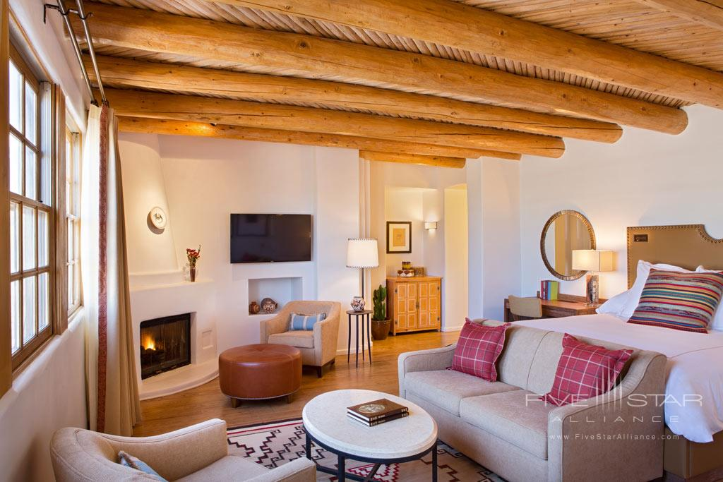 Deluxe King Guest Room at Rosewood Inn of the Anasazi, Santa Fe, NM