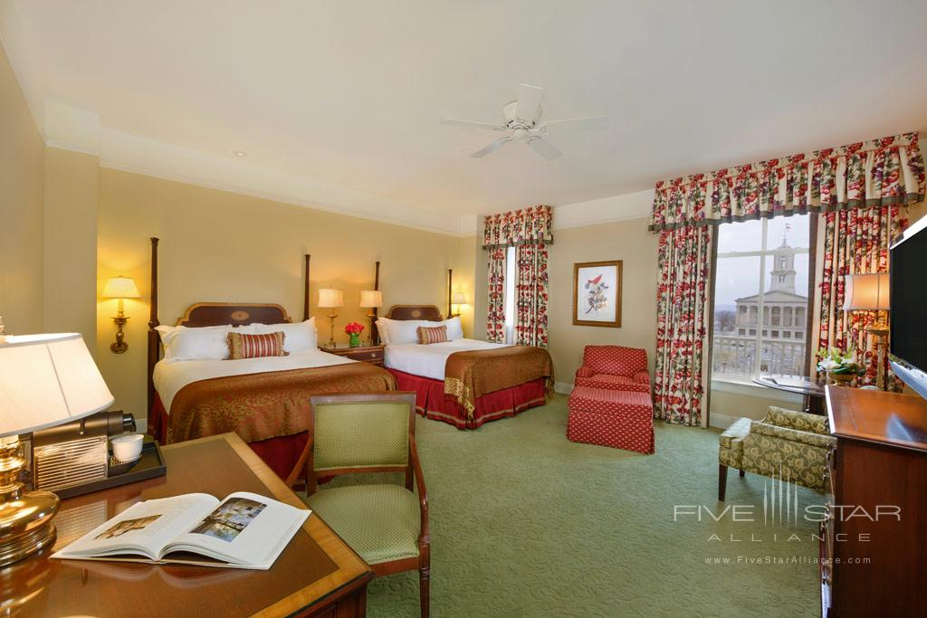 Deluxe Queen Guest Room at The Hermitage Hotel, TN, United States