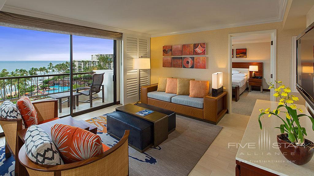 Deluxe Suite at Hyatt Regency Maui Resort And Spa, Kaanapali, HI