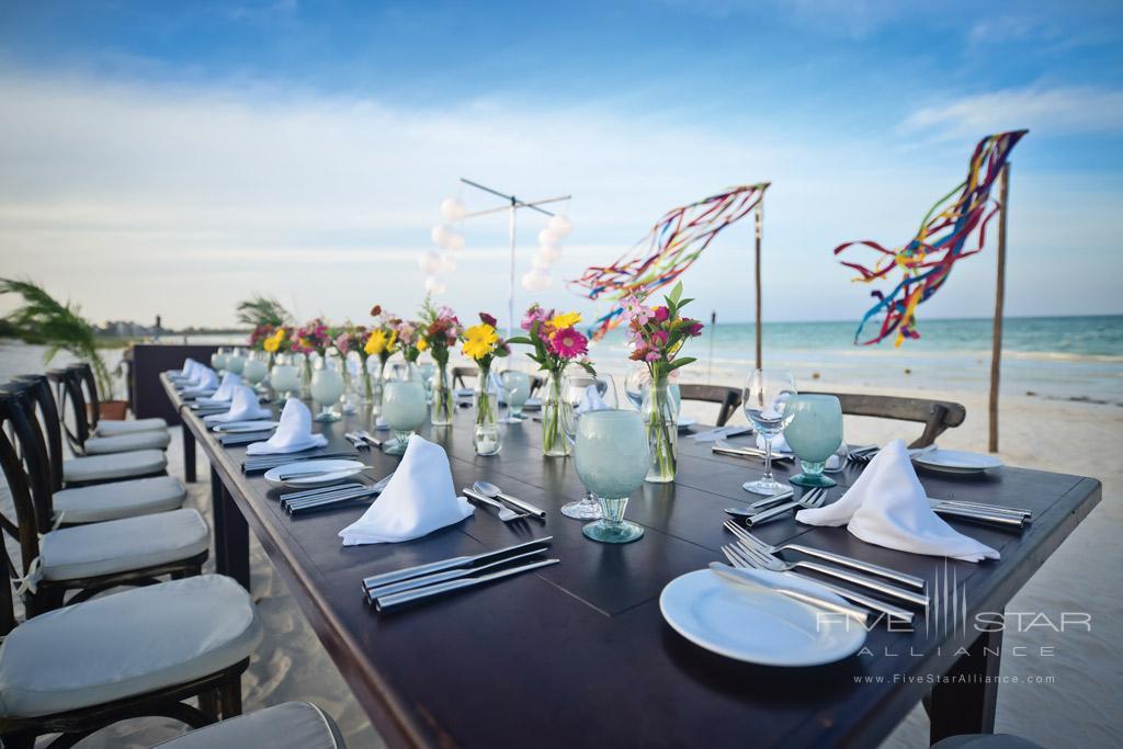 Dine at Belmond Maroma Resort and Spa, Riviera Maya, Quintana Roo, Mexico