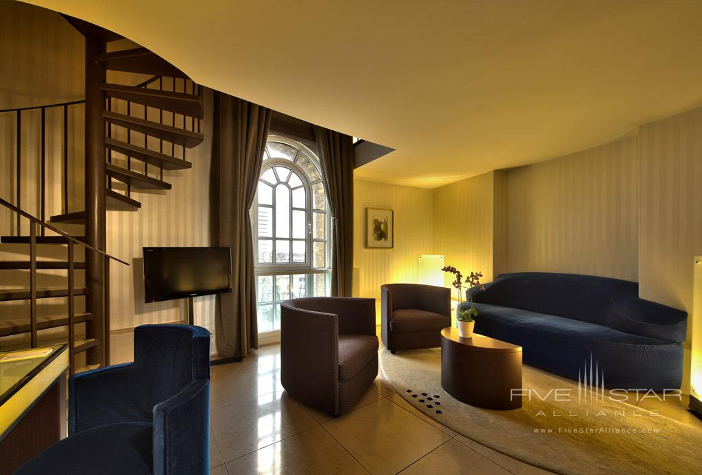 Suite Lounge at Hotel Im Wasserturm, Cologne, Germany