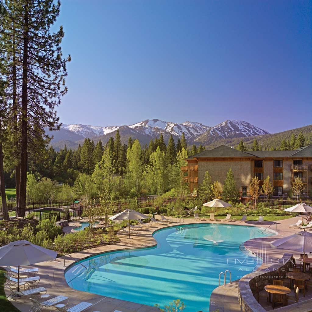 Outdoor Pool at Hyatt Regency Lake Tahoe Resort Spa and Casino, Incline Village, NV