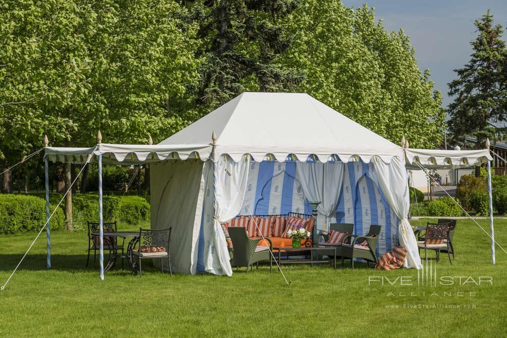 Blue Tent at Hotel Amade Chateau, Vrakúň, Slovakia