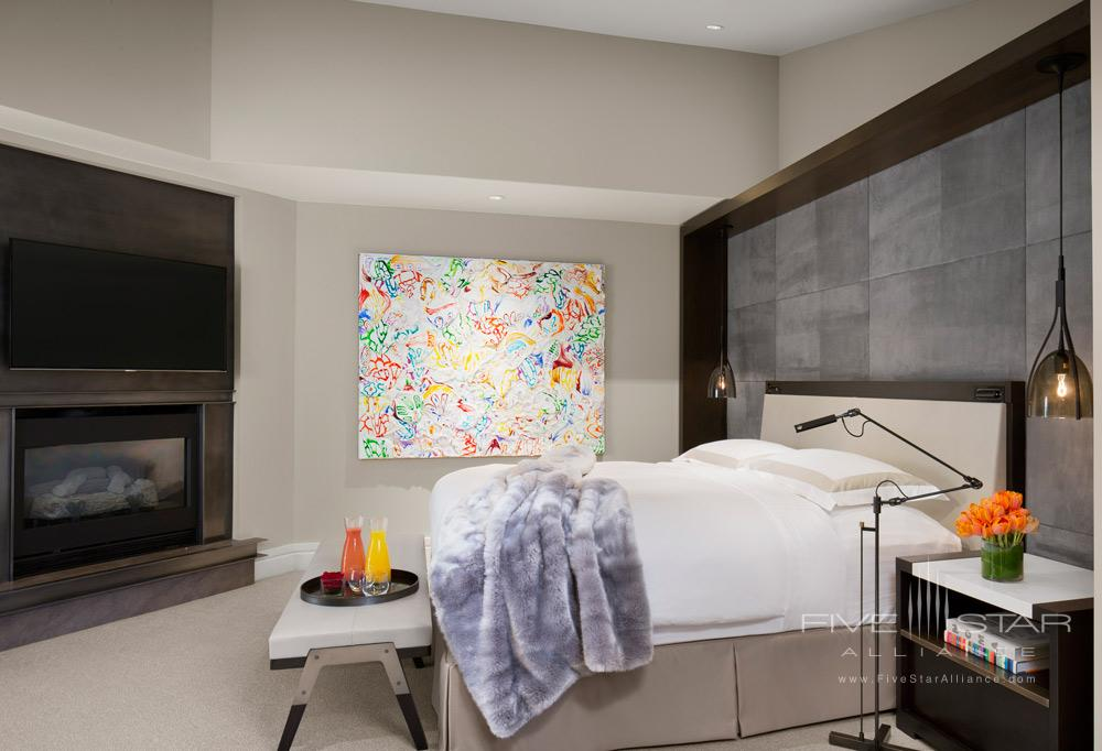 Guest Room at The Little Nell, Aspen, CO