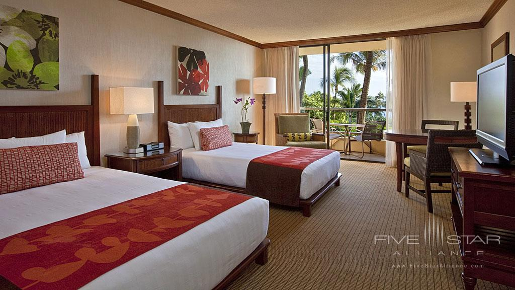 Double Guest Room with Partial Ocean Views at Hyatt Regency Maui Resort And Spa, Kaanapali, HI