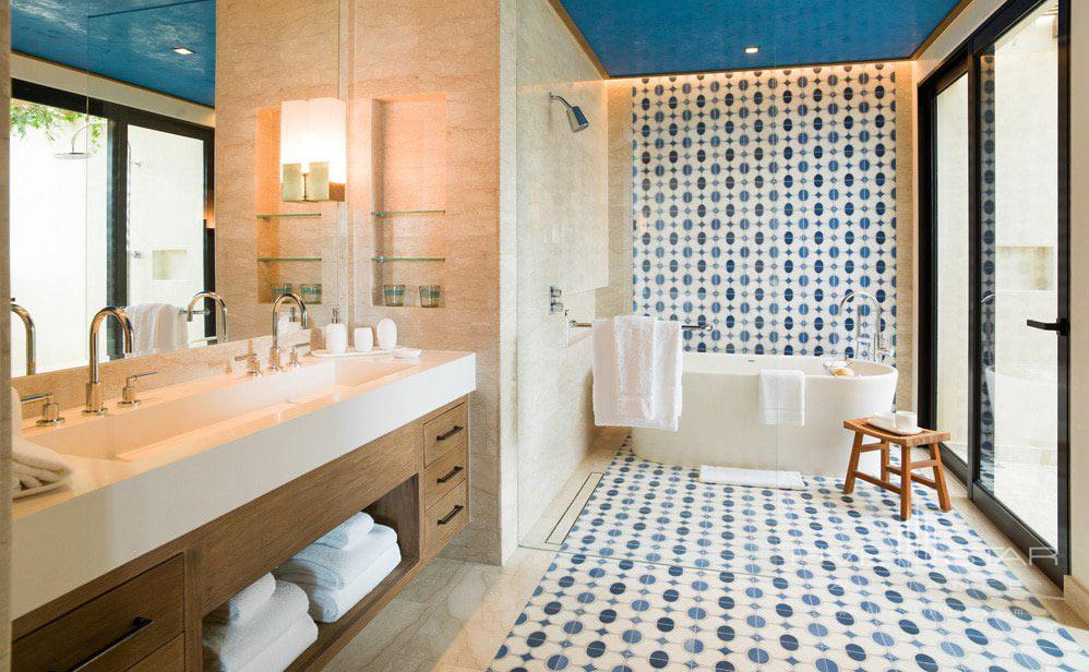 Guest Bath at Chileno Bay Resort & Residences, Cabo San Lucas, B.C.S., Mexico