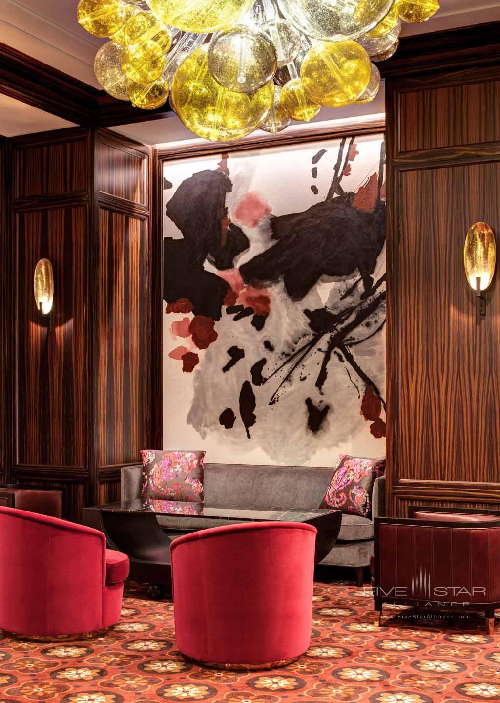 Lobby and Lounge Seating Area at The Lotte New York Palace, New York, NY