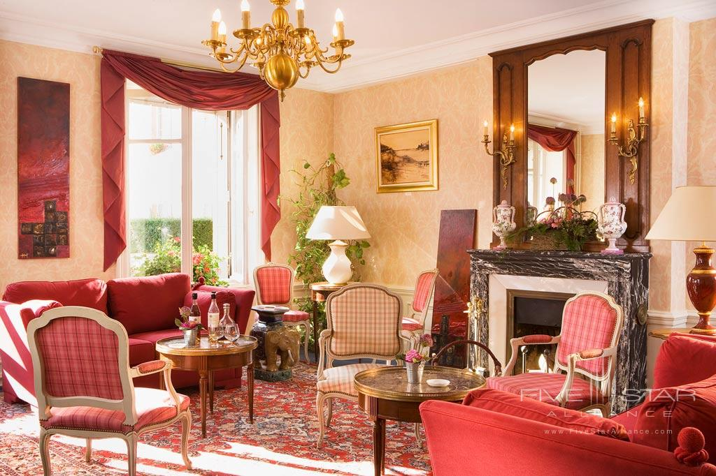 Suite Lounge at Chateau D'Isenbourg, Rouffach, France