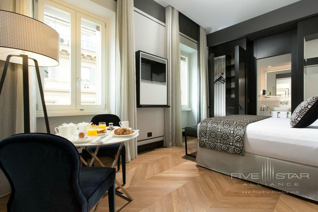 Deluxe Guest Room at Corso 281, Rome Italy