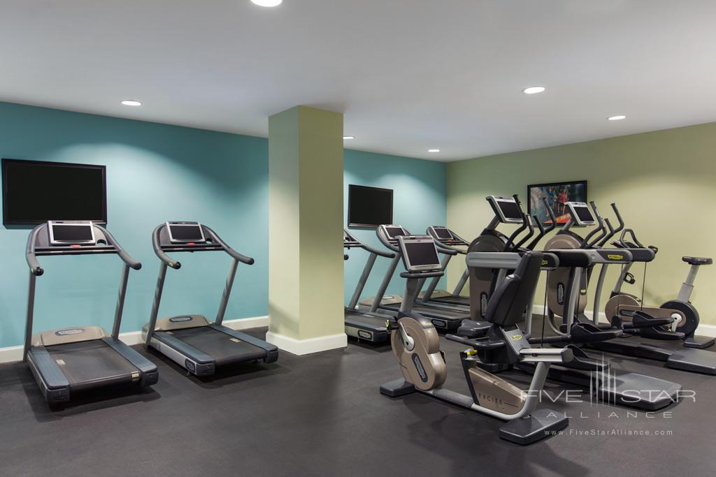Fitness Center at Fairmont San Jose, San Jose, CA