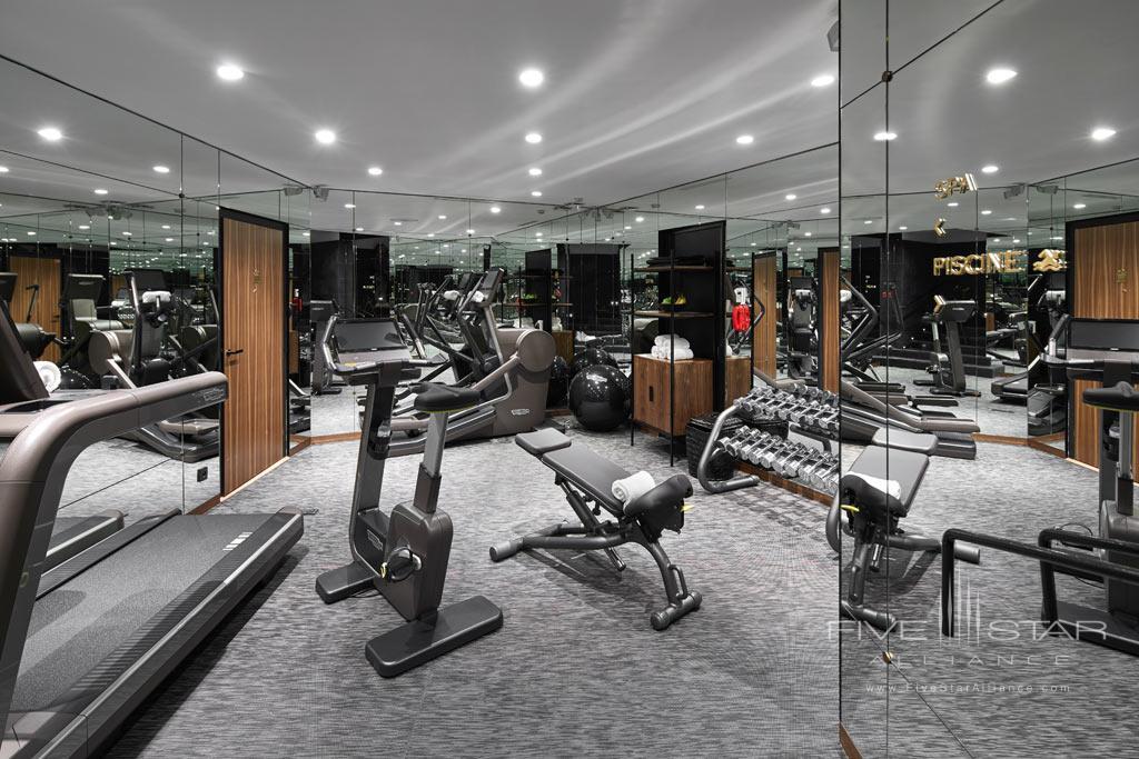 Gym at Le Roch Hotel & Spa, Paris, France