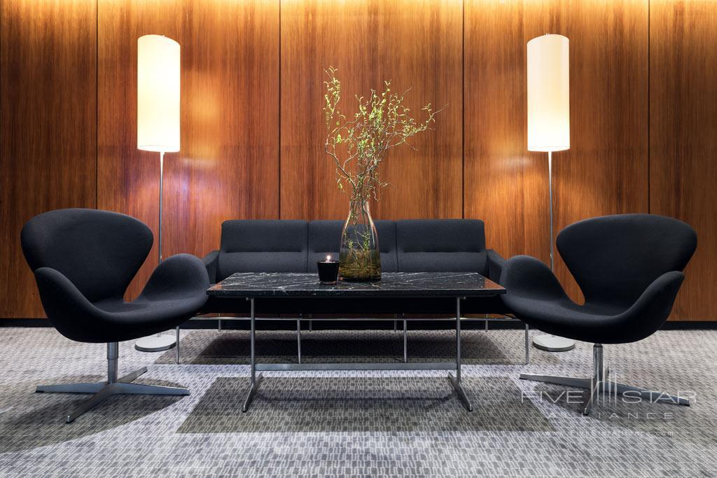 Lounge at Radisson Blu Royal Hotel Copenhagen, Denmark
