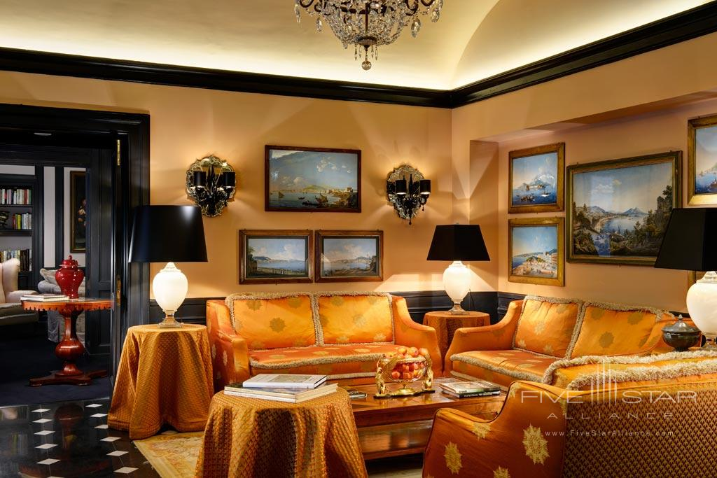 Lounge at Hotel d'Inghilterra Rome, Italy