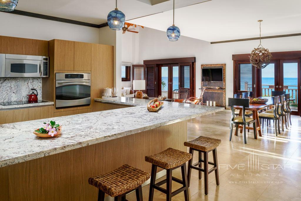 Three Bedroom Kitchen Area at Zemi Beach House Resort & Spa, West Indies, Anguilla