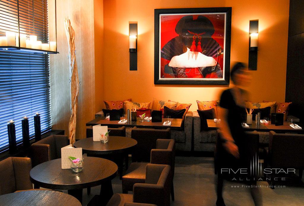 Bar at Eastwest Hotel, Geneva, Switzerland