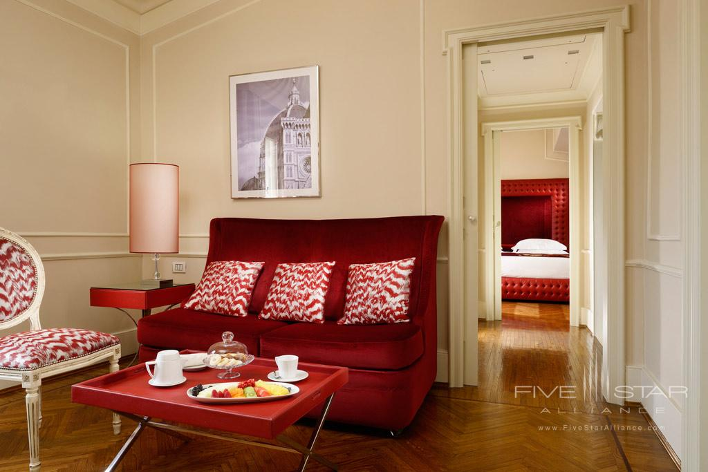 Bargello Suite Living at Brunelleschi Hotel Florence, Italy