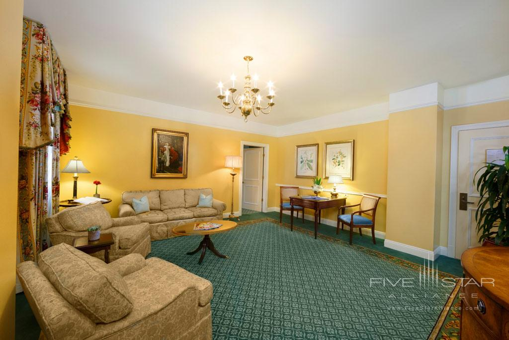 Executive Suite Parlor at The Hermitage Hotel, TN, United States